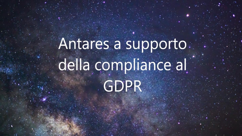 Gestione della compliance al GDPR